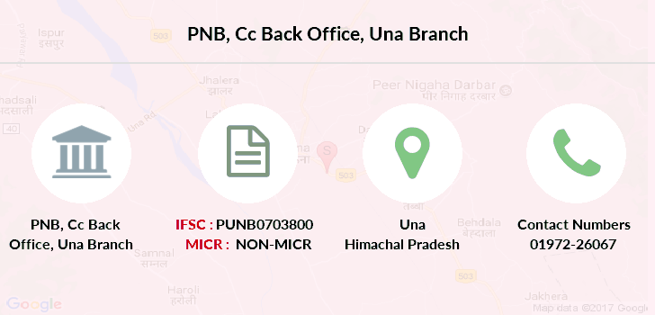 Punjab-national-bank Cc-back-office-una branch