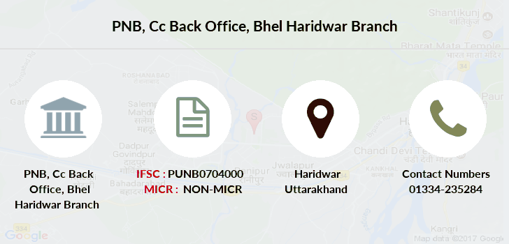 Punjab-national-bank Cc-back-office-bhel-haridwar branch