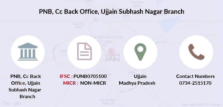Punjab-national-bank Cc-back-office-ujjain-subhash-nagar branch