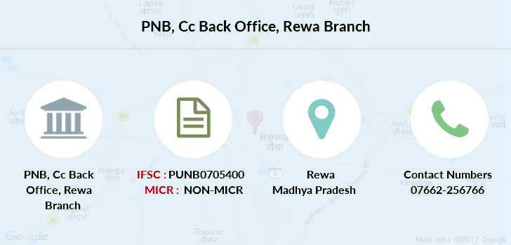 Punjab-national-bank Cc-back-office-rewa branch