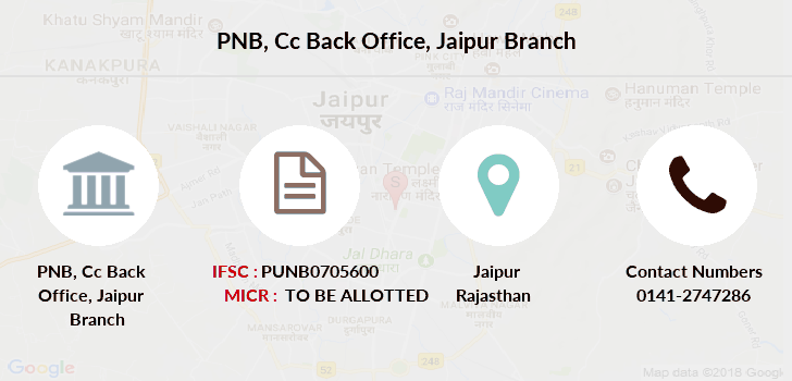 Punjab-national-bank Cc-back-office-jaipur branch