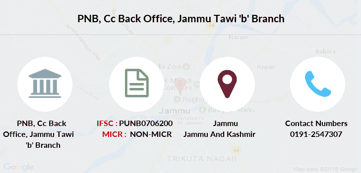 Punjab-national-bank Cc-back-office-jammu-tawi-b branch