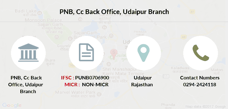 Punjab-national-bank Cc-back-office-udaipur branch