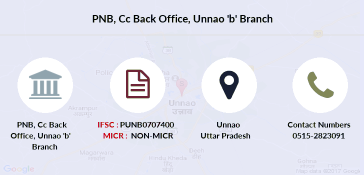 Punjab-national-bank Cc-back-office-unnao-b branch
