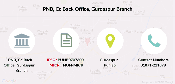 Punjab-national-bank Cc-back-office-gurdaspur branch