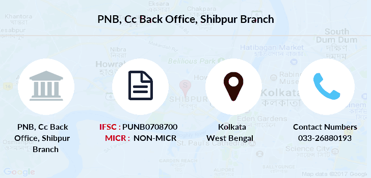 Punjab-national-bank Cc-back-office-shibpur branch