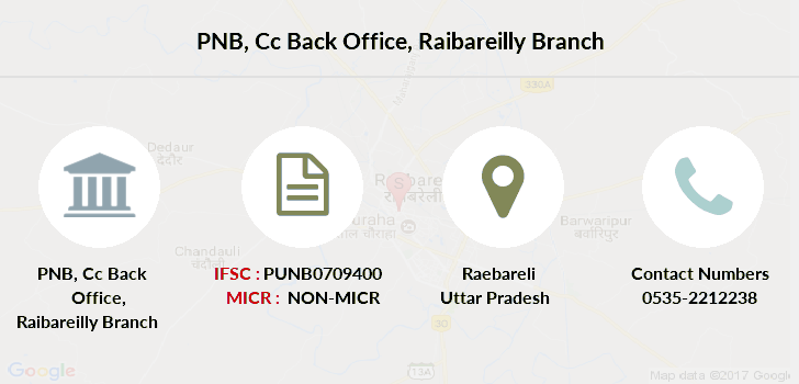 Punjab-national-bank Cc-back-office-raibareilly branch