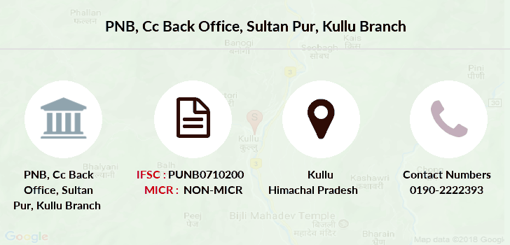 Punjab-national-bank Cc-back-office-sultan-pur-kullu branch