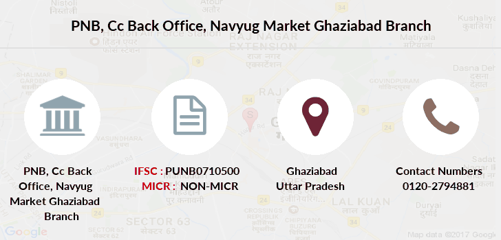 Punjab-national-bank Cc-back-office-navyug-market-ghaziabad branch