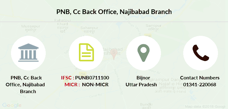 Punjab-national-bank Cc-back-office-najibabad branch