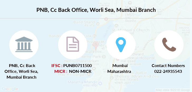 Punjab-national-bank Cc-back-office-worli-sea-mumbai branch