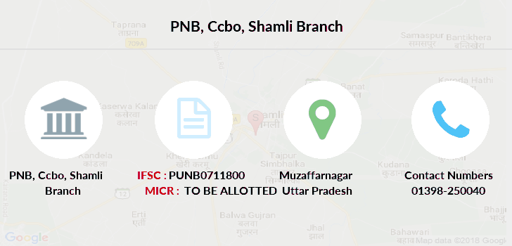Punjab-national-bank Ccbo-shamli branch
