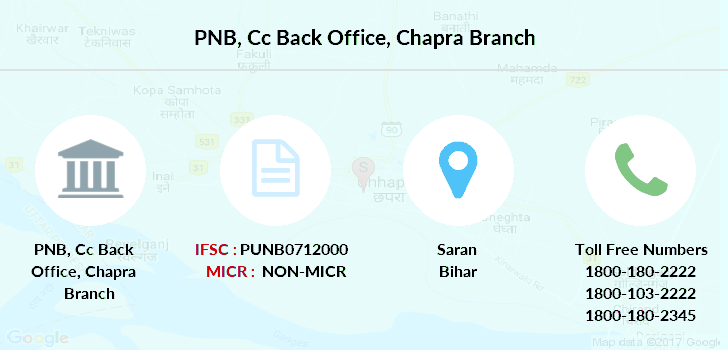 Punjab-national-bank Cc-back-office-chapra branch