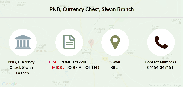 Punjab-national-bank Currency-chest-siwan branch