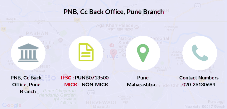 Punjab-national-bank Cc-back-office-pune branch