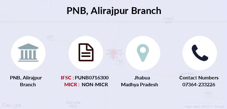 Punjab-national-bank Alirajpur branch