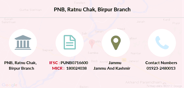 Punjab-national-bank Ratnu-chak-birpur branch