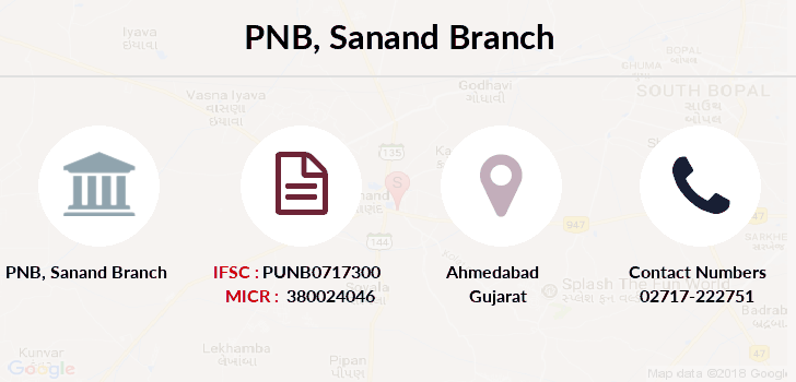 Punjab-national-bank Sanand branch