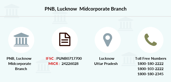 Punjab-national-bank Lucknow-midcorporate branch