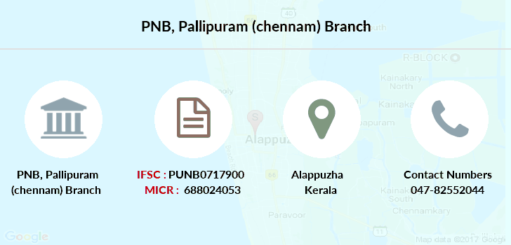 Punjab-national-bank Pallipuram-chennam branch