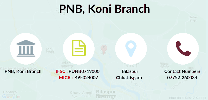 Punjab-national-bank Koni branch