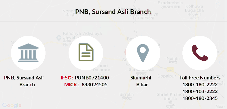 Punjab-national-bank Sursand-asli branch