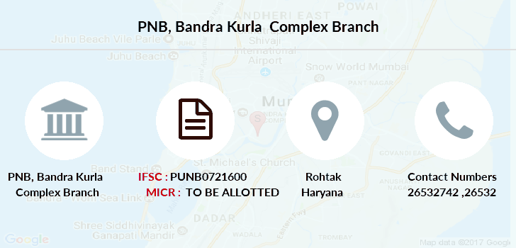 Punjab-national-bank Bandra-kurla-complex branch