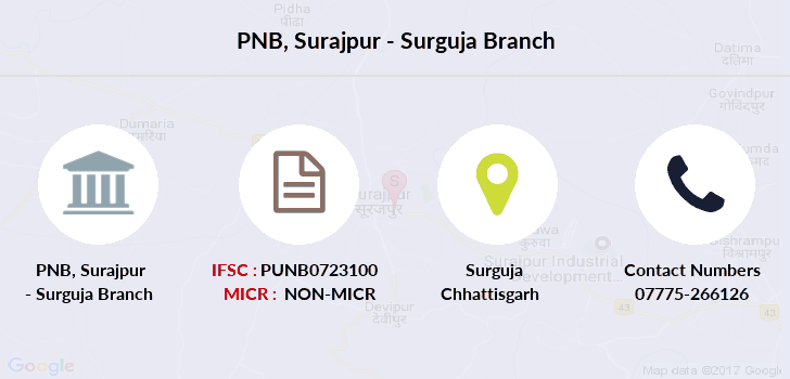 Punjab-national-bank Surajpur-surguja branch