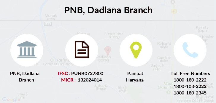 Punjab-national-bank Dadlana branch