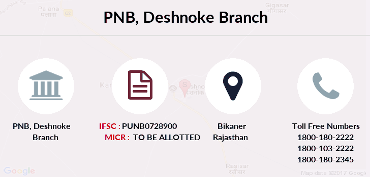 Punjab-national-bank Deshnoke branch