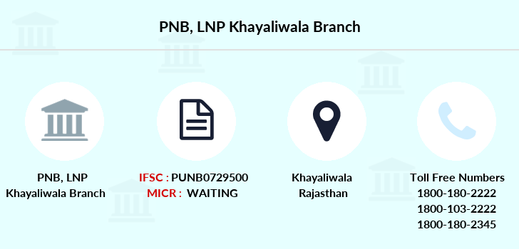 Punjab-national-bank Lnp-khayaliwala branch