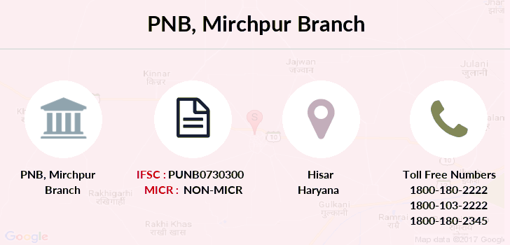 Punjab-national-bank Mirchpur branch