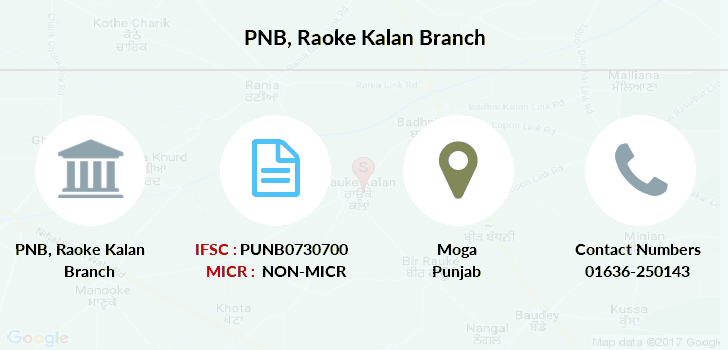Punjab-national-bank Raoke-kalan branch