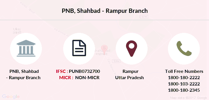 Punjab-national-bank Shahbad-rampur branch