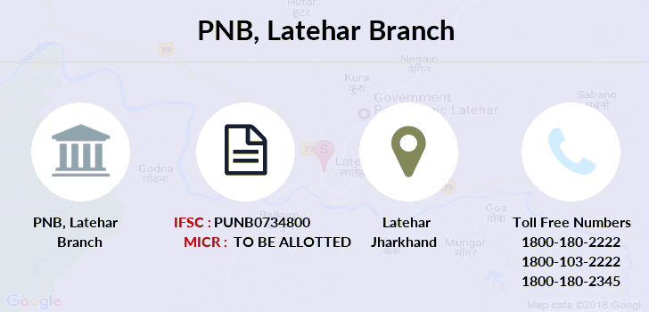 Punjab-national-bank Latehar branch