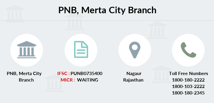Punjab-national-bank Merta-city branch