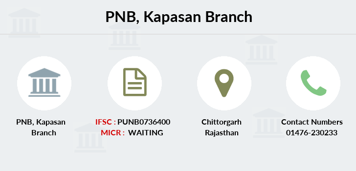 Punjab-national-bank Kapasan branch