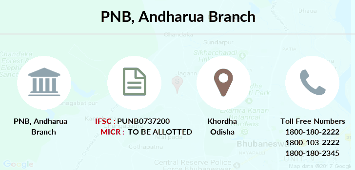 Punjab-national-bank Andharua branch