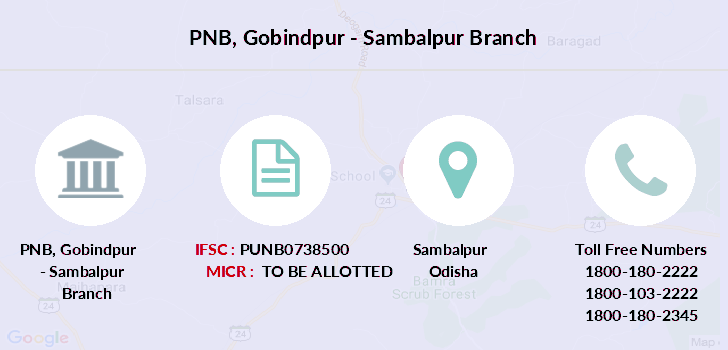 Punjab-national-bank Gobindpur-sambalpur branch