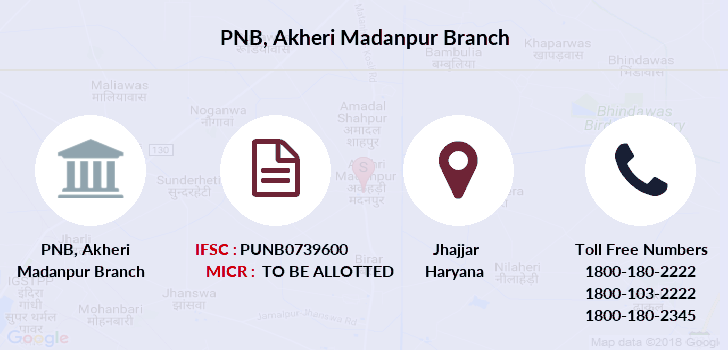 Punjab-national-bank Akheri-madanpur branch