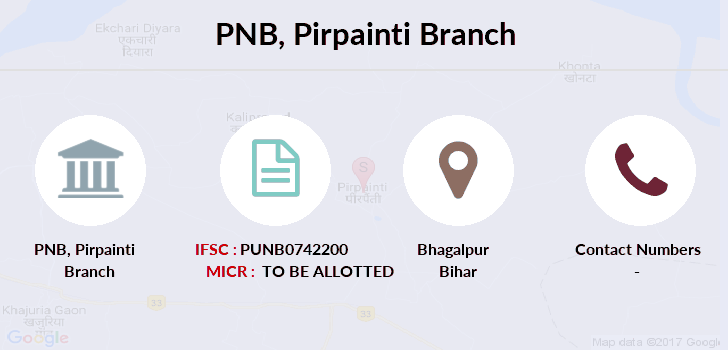 Punjab-national-bank Pirpainti branch