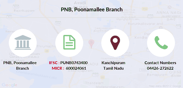 Punjab-national-bank Poonamallee branch