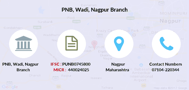 Punjab-national-bank Wadi-nagpur branch