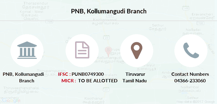 Punjab-national-bank Kollumangudi branch