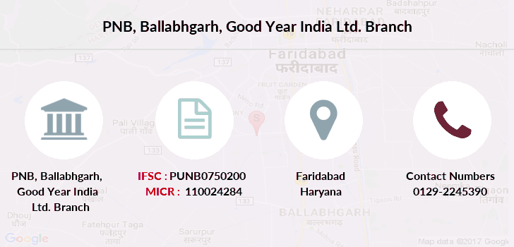 Punjab-national-bank Ballabhgarh-good-year-india-ltd branch