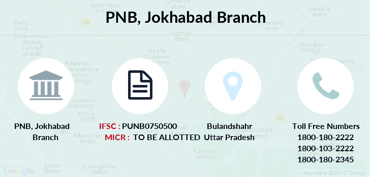 Punjab-national-bank Jokhabad branch