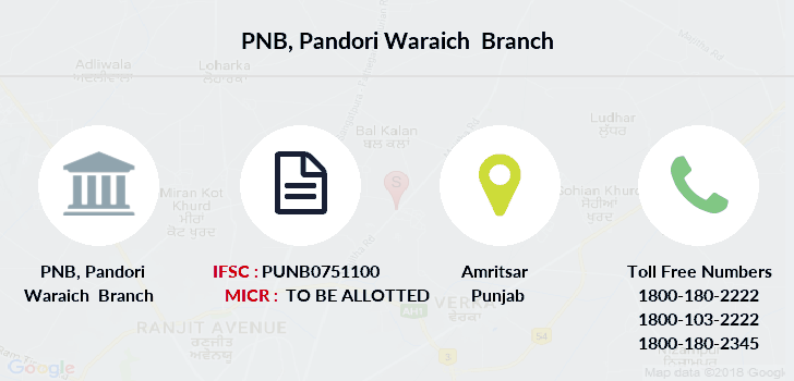 Punjab-national-bank Pandori-waraich branch