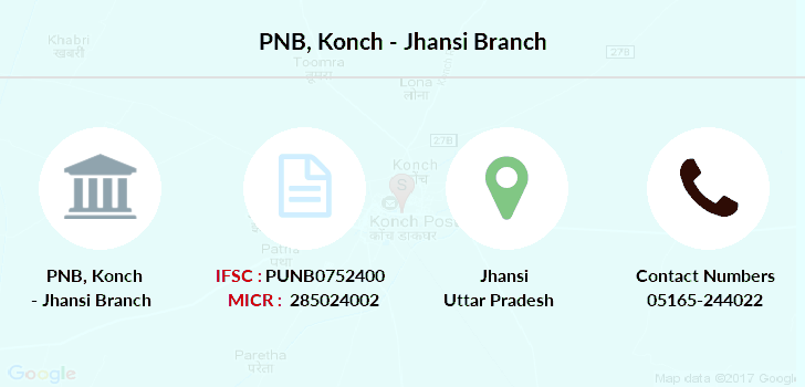 Punjab-national-bank Konch-jhansi branch