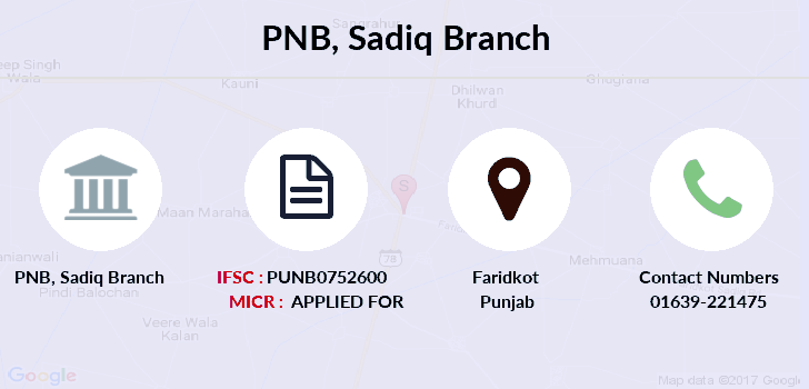 Punjab-national-bank Sadiq branch