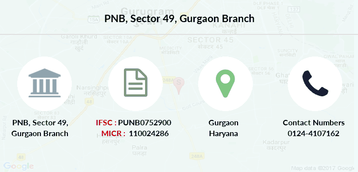 Punjab-national-bank Sector-49-gurgaon branch